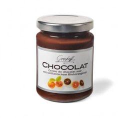 Crema de chocolate negro BELGA y naranjas sanguinas de Sicilia. Una mezcla dulce y amarga para paladares exigentes