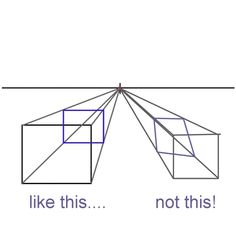 Draw One-Point Perspective