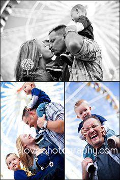 love this! family love at the fair