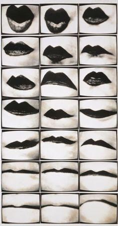 Montage - Friederike Petzold. Mundwerk 1974–1975 Via elogedelart