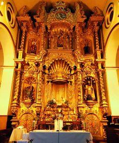 la iglesia del altar de oro en panama city panama   Atractivos Turisticos de Panama: Iglesia San José y el Altar de Oro