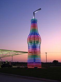 Pop's Soda Ranch. Arcadia, Oklahoma