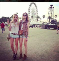 Primeros looks de Coachella 2013