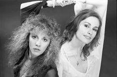 Stevie Nicks with Sara Fleetwood (courtesy of Rosemary Cantali, photographed by HWIII)