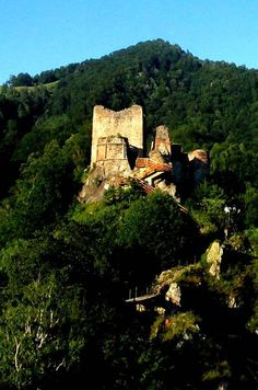 Dracula Castle, Transylvania, Romania - Dracula Castle In Transylvania And The Real Story About Dracula Carl Sagan, Vampires, Vlad El Empalador, The Places Youll Go, Places To See, Dracula Castle, Beautiful Places To Visit, Beautiful Buildings, Dream Vacations