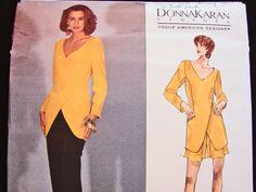 Vogue Patterns DONNA KARAN Misses' Dress by PatternsFromThePast