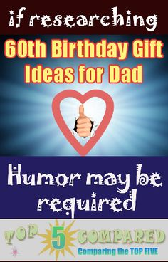 Discover our top 5 examples of birthday gift ideas for dad that might bring a chuckle out of him on the big landmark date. Happy 60th Birthday, Birthday Gifts For Husband, Dad Birthday, Birthday Celebration, Birthday Parties, Dad Images, Dad Humor, My Daddy, Dads