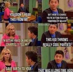 Good luck Charlie-which is actually extremely funny and is one of my favorite shows. Wish it wasn't over :(
