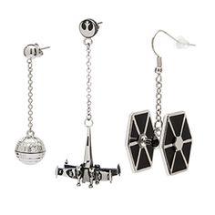 Star Wars Dangle Earrings