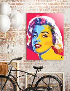 Discover «Marilyn Monroe Pop Art», Exclusive Edition Acrylic Glass Print by…