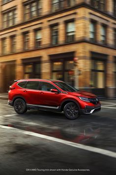 The redesigned 2020 CR-V offers excitement at every turn. With an available leather-trimmed interior and spacious seating, riding with friends is more enjoyable than ever.