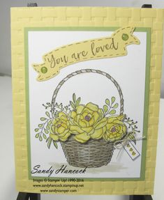Blossoming Basket Bundle - new Sale-a-Bration images