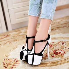 sexy high heels   shoes woman 2014 new platform pump Fashion sexy high-heeled shoes thin ...