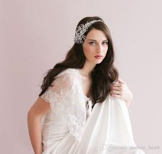 Let yourself shine wearing crystal wedding headpiece bridal accessories cheap modest 2015 wedding accessories sexy headpiece headbands beads headwear fashion real imag sold by sincere_heart at your wedding. baby hair accessories, baby hair clips and bridesmaid jewelry sets are also provided on DHgate.com.