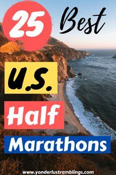 25 Best US Half Marathons: 13 Miles Around the Country   Half Marathon Training Plan, Marathon Tips, Running Workouts, Running Tips, Cross Training For Runners, Half Marathon Motivation, Glute Isolation Workout, Princess Half Marathon, Marathon Runners