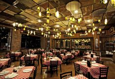 We love Grimaldi's Pizzeria. Coal fired, pizza, homemade cheesecakes, yummy salads.The pizza that made the Brooklyn Bridge famous.