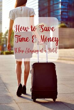 Traveling soon? Make sure you save as much money as possible! These tips will teach you how to save time & money on your next hotel stay! #spon #myESA