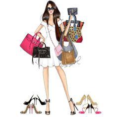 Fashion Design Sketchbook, Fashion Illustration Sketches, Fashion Sketches, Clothing Logo Design, Fashion Logo Design, Ny Fashion, Girl Fashion, Womens Fashion, Fashion Artwork
