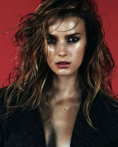 Sigrid Agren by Aitken Jolly for Dansk A/W 2011. Could this be my hair, please?