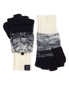 Clarrie Cable Mittens  Superdry  Fashion  Trending  Winter  WhatsHot  Palčáky 9a7042f8ccb