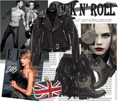 """""""I know it's only rock n' roll but i like it,like it , yes i do"""" by marthavk ❤ liked on Polyvore"""