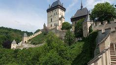 Visit #Karlstejn #castle close from #Prague with #ebiketours @citybikeprague #charlesIV #history