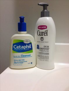Shave legs with Cetaphil! No more itchy shins or red bumps! Even in the cold of winter. I'm never buying shave gel again. Curel lotion is THE BEST for itchy dry skin!