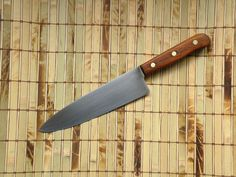 Kitchen Knife Chicago Cutlery 42S Chef's Knife Reconditioned Vintage 1970's 42 S #ChicagoCutlery