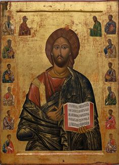Catholic Art, Religious Art, Christ Pantocrator, Russian Icons, Orthodox Icons, Illustrations, Christian Art, Images, Jesus Christ