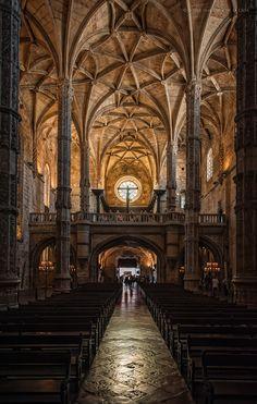 Iiglesia de Belem, convento de los Jerónimos de Lisboa