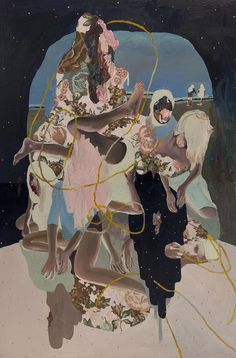 """Canadian artist Alexandra Levasseur (previously covered here) has new oil and acrylic paintings on view at Mirus Gallery, """"Body of Land"""". Kunst Inspo, Art Inspo, Art And Illustration, Art Sketches, Art Drawings, Guache, Wow Art, Art Blog, Oeuvre D'art"""