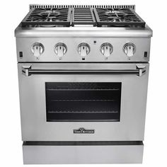 Thor Kitchen 30 in. Dual Fuel Range with 4 Burners