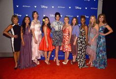 All Of The Disney Princesses Are Gonna Be In A Movie Together And It's Too Much To Handle | From left to right we have: Paige O'Hara (Belle), Irene Bedard (Pocahontas), Mandy Moore (Rapunzel), Auli'i Cravalho (Moana), Sarah Silverman (Vanellope), Kristen Bell (Anna), Kelly Macdonald (Merida), Anika Noni Rose (Tiana), Linda Larkin (Jasmine), and Jodi Benson (Ariel). ----> I CANT WAIT!!!!!!