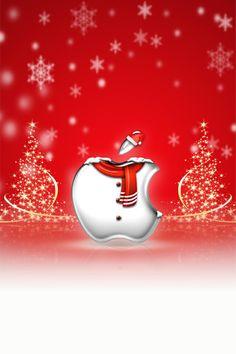 Iphone wallpaper - christmas by laggydogg xmas wallpaper, apple wallpaper.