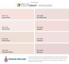 61 Best Pink Paint Colors Images In 2018 Paint Colors Paint