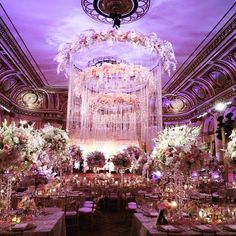 Fairytale Princess Wedding -A David Tutera Wedding at The Plaza Hotel in NYC. Wedding Reception Ideas, Wedding Themes, Wedding Designs, Wedding Venues, Wedding Decorations, Wedding Images, Wedding Colors, Wedding Ceremony, New York Wedding