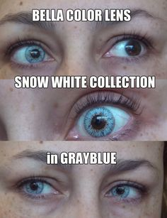 ac9fa673fc BELLA COLOR LENS - Snow White Collection in GrayBlue   Gray Blue ☞ You can  purchase