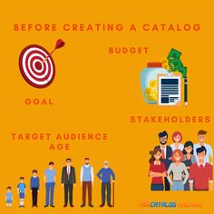 Share Online, Product Catalog, Target Audience, Create Yourself, Budgeting, Number, Goals, Marketing, Budget Organization