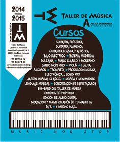 CURSOS Y FORMACIÖN PARA EL EMPLEO: Oferta de Cursos del Taller de Música