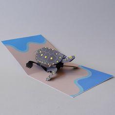 Animal Pop-Up Cards – Eastern Biological Arte Pop Up, Pop Up Art, Book Making, Card Making, Paper Art, Paper Crafts, Foam Crafts, Animal Cards, Paper Toys
