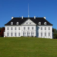 Denmark - Marselisborg Palace is the summer residence of The Queen and Prince Consort