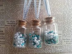 Set of 3 button 'the teal collection'  inspired by maxollieandme