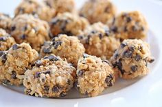 Gluten free energy bites: no bake!  ?? subbing almond butter and oats.
