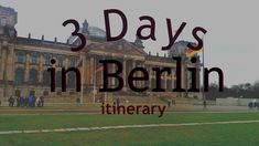 Planning to visit Germany for the first time? Here is a three-day itinerary than can help you along the way! Hope you´ll have fun on your journey!    #Berlin #germany #travel #itinerary #threedays #berlin #traveling #travelblogger #travelgram #planner #planning #holiday