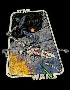 Unused Star Wars T-Shirt - Star Wars Poster - Ideas of Star Wars Poster - - Unused Star Wars T-Shirt on Behance Star Wars Pictures, Star Wars Images, Star Wars Fan Art, Star Trek, Star Wars Poster, Cuadros Star Wars, Star Wars Shoes, War Comics, Star Wars Comics