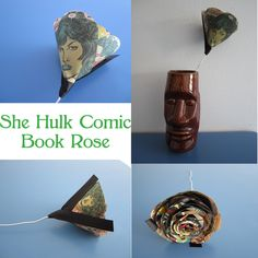 She Hulk Comic Book Rose