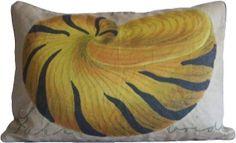Tiger Shell Pillow