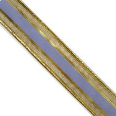 "5 yards 1"" WIDE 25mm Metallic Sheer Ribbon ORM03810"