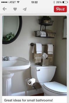 Very nice for a small bathroom