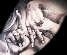 LA tattoo by Antonio Todisco #InkedMagazine #LA #LosAngeles #tattoo #tattoos #inked
